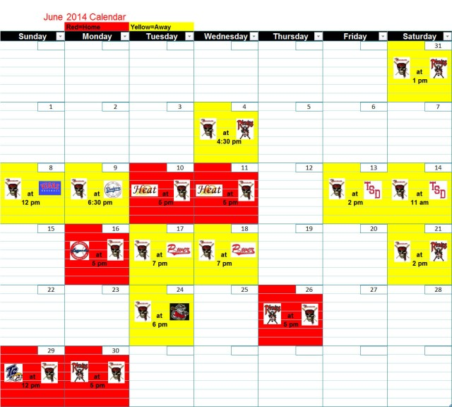 Bucs June Calendar copy
