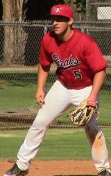 Jonny Reynoso in the ready position